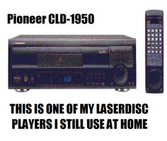 LASERDISC PLAYER I STILL USE AT HOME Pioneer CLD-1950 WORKS FANTASTIC MOVIES ARE GREAT PLAYS PAL/NTSC LASERDISC FORMATS Pioneer Audio, Audiophile, Plays, Decorative Boxes, Technology, Movies, Games, Tech, Films