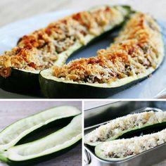 2 zseniális cukkinirecept, amit mindenki imád - Egyszerű, gyors és pazar vacsora! - Bidista.com - A TippLista! Zucchini, Bacon, Vegetables, Recipes, Food, Chef Recipes, Cooking, Essen, Eten