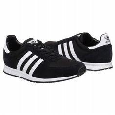 adidas Adistar Racer Shoes (Black/White/Black) - Men's Shoes - 4.5 M