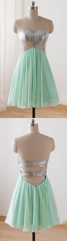 Mint Homecoming Dresses, Short Homecoming Dresses, Homecoming Dresses,Sweetheart Homecoming Dresses,Mint Homecoming Dresses WF01-211, Short Dresses, Mint dresses, Sweetheart Dresses, Homecoming Dresses Short