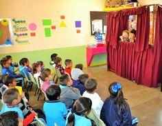 Presenta DIF Municipal teatrino en Jardín de niños | El Puntero