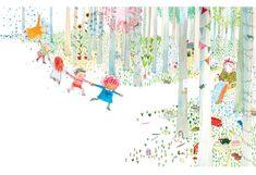 Rebecca Cobb - The Paper Dolls by Julia Donaldson