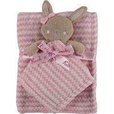 Bunny Comforter & Blanket Set