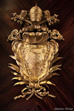 VATICANO - Stemma Vaticano (The coat of arms of the City of the Vatican)
