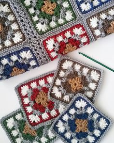 I've been making progress on my new Autumn blanket.  #Regram via @__forgetmeknot