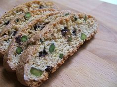 Dessert bar option? Macadamia Nut and Chocolate Biscotti
