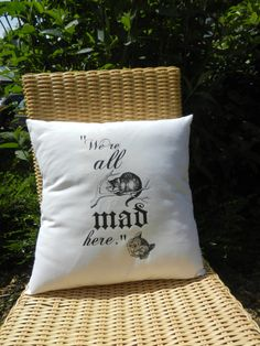 Hey, I found this really awesome Etsy listing at https://www.etsy.com/listing/235304408/alice-in-wonderland-throw-pillow-choose
