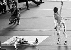 Victory and defeat: U20 Women's Foil at Junior World Championships 2016.