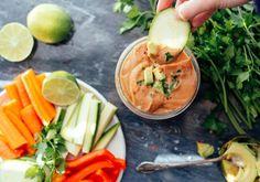 Southwest Three-bean Dip | Nutrition Stripped - nice alternative to regular hummus