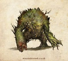 Bog Beast, Sam Lamont on ArtStation at http://www.artstation.com/artwork/bog-beast