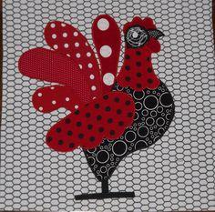 BOM alternative Red chicken from Fatcatpatterns.com  Im loving my blocks#Repin By:Pinterest++ for iPad#