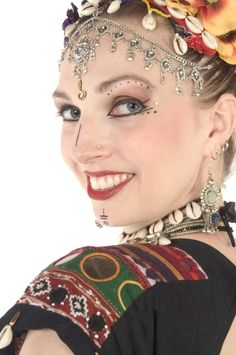 Tribal belly dance makeup - HippyMom - An Evolution of Female Community Parenting Board
