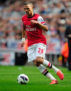 Kieran Gibbs - Newcastle United v Arsenal