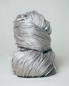 #Bamboo yarn: sustainably grown, viscose man-made fiber , dyed   (Habu Textiles)
