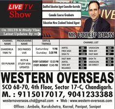 Live T.V Show - Must watch latest updates of & Study On Chardikla Time T.V & DD Punjabi