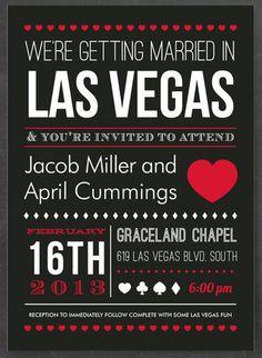 Invitation layout.  So simple!  Love it!