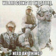 Snow in ga