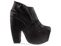 Jeffrey Campbell What in Multi Black