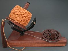 The premium end of ball winders. Stunning and beautiful to use.  www.goldingfibertools.com