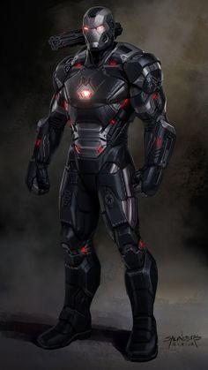 Marvel Films, Marvel Vs, Marvel Comics, War Machine Iron Man, Iron Man Art, Futuristic Armour, New Avengers, Marvel Comic Character, Superhero Design