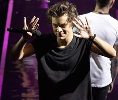 harry and his hands