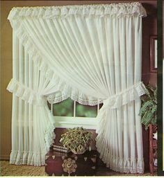 LACE PRISCILLA CURTAINS