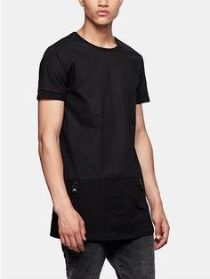 long t-shirt black