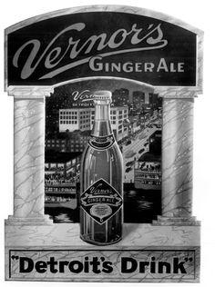 vintage ad.....Detroit's Drink