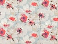 Eden Amaranth - Xanthina : Designer Fabrics & Wallcoverings, Upholstery Fabric I like this one for the kitchen Textiles, Textile Patterns, Surface Pattern Design, Pattern Art, Printed Linen, Pretty Patterns, Fabric Wallpaper, Floral Watercolor, Fabric Design