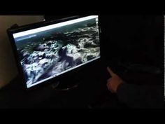 Leap gesture control technology hands-on, via YouTube.