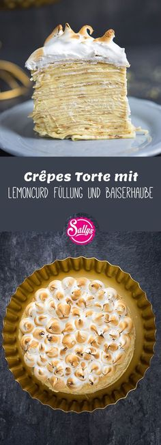 Sally crepes torte