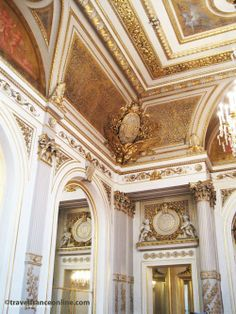Elysee Palace Salon Napoleon III #Paris www.travelfranceonline.com #gilding