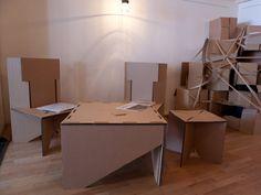 Cajas de distintos tamaños para creativos