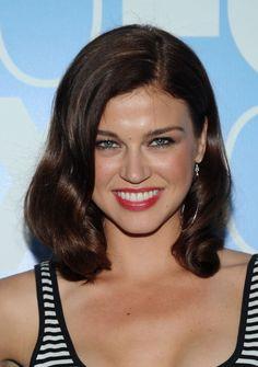 Adrianne Palicki Medium Wavy Cut hair-and-beauty