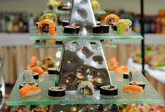 Piramida na finger food