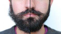 Y asi es como se arregla una barba