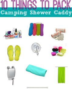Shower Caddy for Camping
