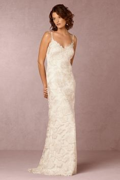 BHLDN Montana Gown in  Bride Wedding Dresses at BHLDN