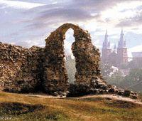 R'ezekne, Latvija, castle, church, latvia,  landscape, mystery, fantasy, history,