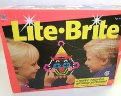 Lite-Brite!  Aaaahhh... hours of awesomeness.