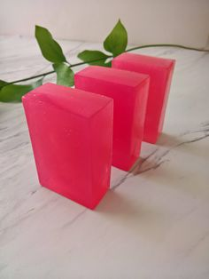 Floral Scented Soap Pink Soap Pretty Soap Lavender Scented Soap Herbal Soap Colored Soap Rose Skincare Rose Skin Care Lavender Body Wash by CoconutSpiceSkincare on Etsy