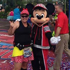 Looks like Mickey found a Girlfriend! Thanks for sharing Leigh