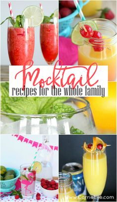 These mocktail recip