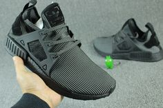 1077adcf0eabd adidas Womens NMD XR1 Triple Black