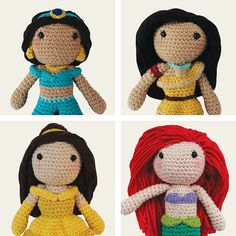 Disney Princess: Jasmine Pocahontas Belle & Ariel. by Mindundia