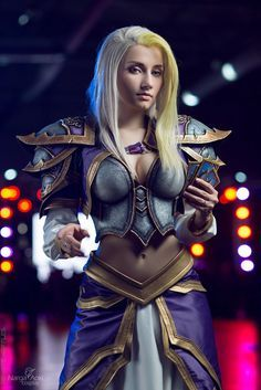 Jaina Proudmoore - Let's play Hearthstone by Narga-Lifestream on DeviantArt