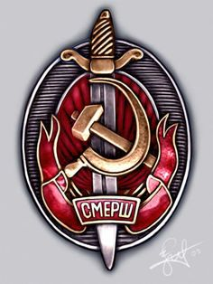 """SMERSH (Kill Spies) military counterintelligence  April 19, 1943, established the Directorate of counter-intelligence SMERSH NKO of USSR. For two years """"SMERSH"""" neutralized more than 30 thousand spies, more than 6 thousand terrorists and around 3500 saboteurs.  Central office held 186 of the radio game, which resulted in our """"adopted"""" more than 400 members of the Abwehr and their agents. Among captured enemy soldiers and officers had identified more than 2,000 employees of the Abwehr and the…"""