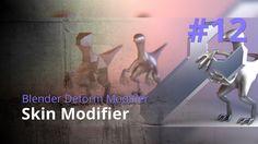 Blender Generate Modifier #12 - Skin Modifier
