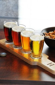 Personalized Beer Flight Sampler Set #home www.loveitsomuch.com