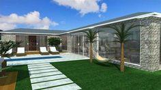 Projetos de Casas de Campo  Barbara Borges Projetos 3D